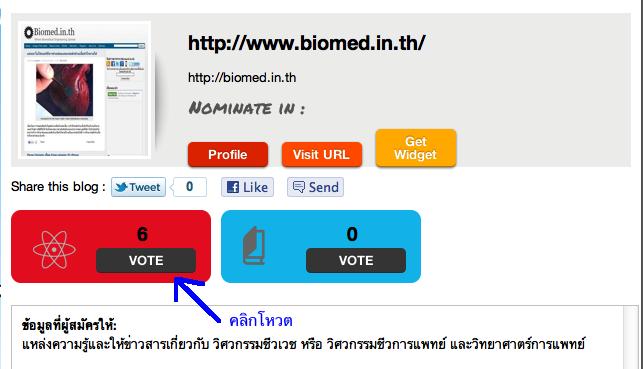 Thailand Blog Award ประจำปี 2011 เริ่มแล้ว